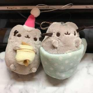 Pusheen doll mini keyrain collection christmas limited