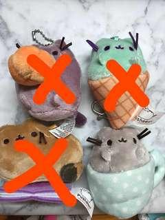 Pusheen cat dolls mini keyring stuffed