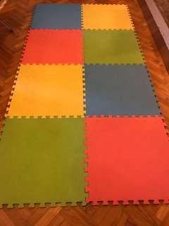 Playmat (ELC Brand) 2 sets of 4 mats