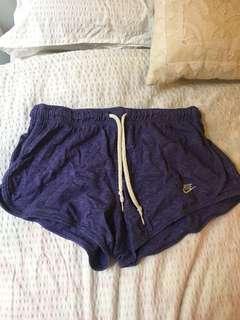 Nike purple shorts