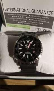 Citizen NY0080-12E Asia limited Black brand new