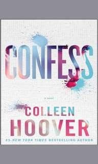 EBOOK confess by colleen hoover