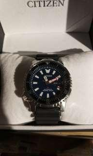 Citizen NY0081-10L Asia limited Blue brand new