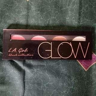L.A Girl GLOW blush collection