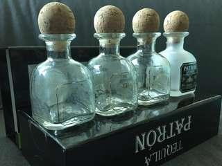 #bundlesforyou EMPTY Bottles Tequila Patron 50ml