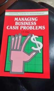 Managing business cash problems- essential guides to management