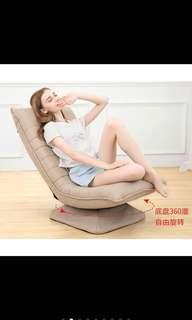 360 swivel lazy multi fold chair