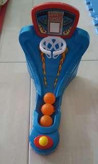 Mini basketball toy