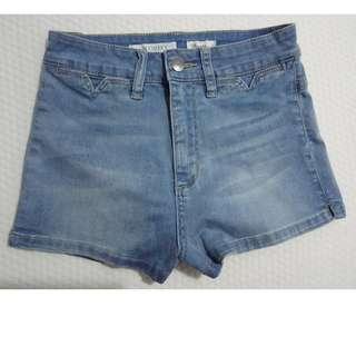 New Wrangler Hi Cheeky Shorts Size 7