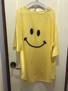 Vintage smiley blouse long