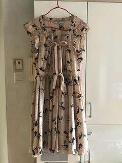 🈹️Prada Bambi pattern one piece dress 連身傘裙