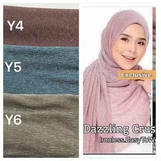 Dazzling crush shawl