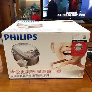 Philips 飛利浦微電腦電子鍋 電鍋 煮飯鍋