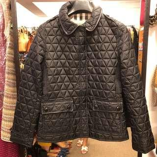羽絨外套 Burberry brit black down jacket coat size XL
