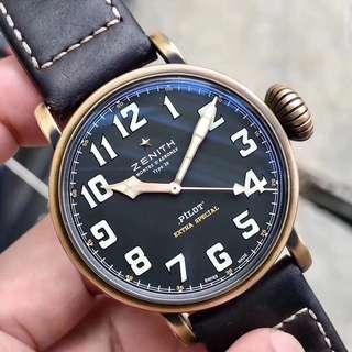 zenith 飛行員 錶 正品