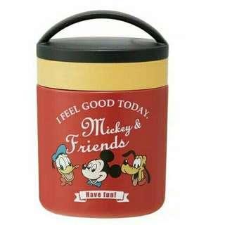 Delica Disney Pot Food Jar Ori From Japan