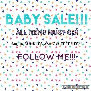 BABY SALE!!!