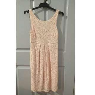 Forever New Size 6 Blush Dress