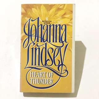 JOHANNA LINDSEY - Heart Of Thunder