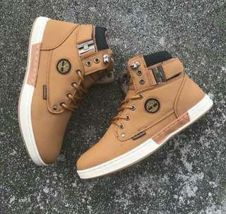 Timberland Mid Cut Brown