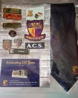 ACS BADGES N TIE FOR SHARING ONLY. NOT FOR SALE