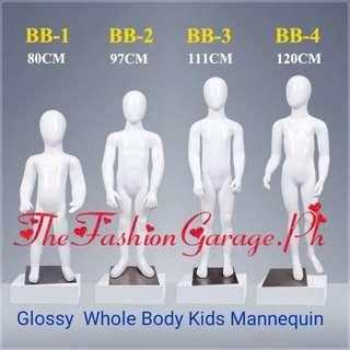 Glossy Wholebody Kids Mannequin