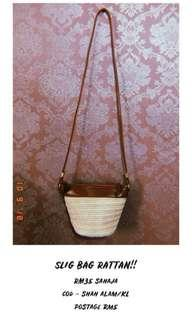 Rattan bag ( limited stock ?