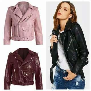 Fm jaket / jacket kulit import