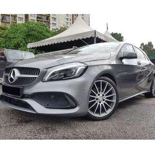 Mercedes Benz A200 AMG Facelift 2016