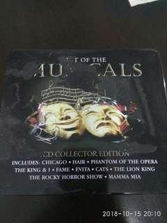 Best Of The Musicals 5cd Collector