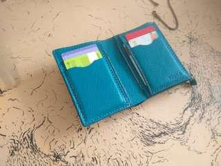 Handmade Leather Simple Wallet🎁free name emboss🎅