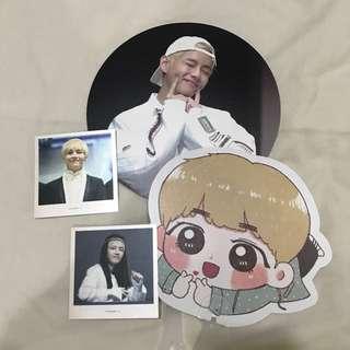 bts taehyung fansite goods