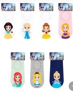 Disney Princess Low Ankle Socks 35-39 EUR Size