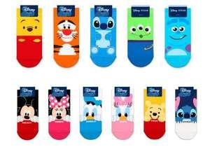Disney Characters Ankle Socks Adult size 35-39