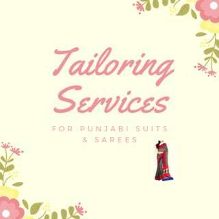 Tailoring Services for Punjabi Suits & Sarees