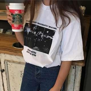 [PO] Casual Graphic Tee