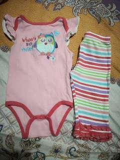 PURE Onesie and Pants set