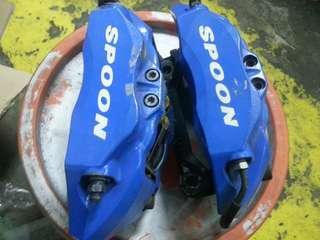 Original Spoon Prototaip Honda brake caliper monoblock