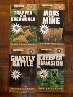 An Unofficial Minetrapped Adventures Series Book set
