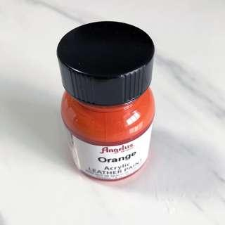 Orange Angelus Acrylic Leather Paint 1fl oz