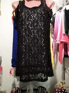 2 in 1 lace blouse