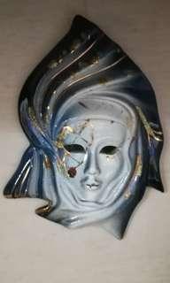 Greek Mask 希臘面具 - Blue