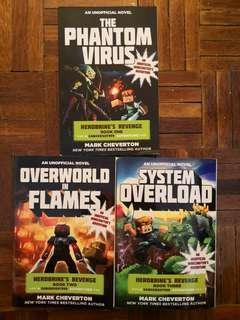 An Unofficial Minecrafter's Adventure : Herobrine's Revenge Books set (A  Gameknight 999 Adventure)