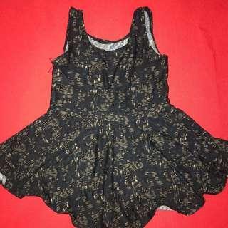 Little skater style cotton dress