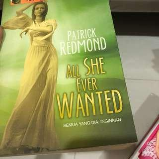 All She Ever Wanted by Patrick Redmond (Bahasa Indonesia)
