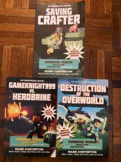 Herobrine Reborn Books set : A Gameknight999 Adventure