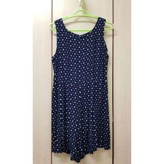 Cotton On_Short Romper Navy Blue