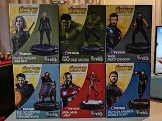 Avengers Infinity War Petron Collectibles SET