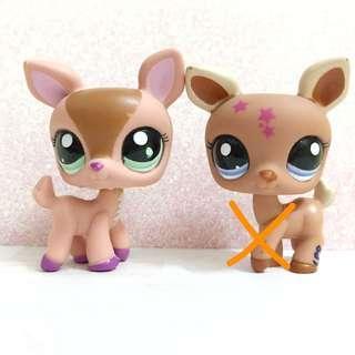 Littlest pet shop LPS Rare deer