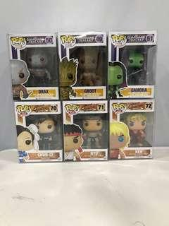 Assorted Funko Pops